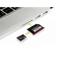 8Mobility苹果电脑macbook Air/Pro移动硬盘读卡器扩容扩展SD卡套