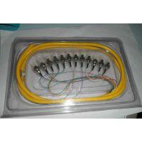 FC12芯光纤跳线吸塑包装盒 FC12芯尾跳纤吸塑盒 价格 图片