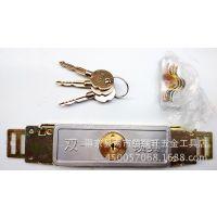 精品供应 薄型卷闸门锁 十字拉闸门锁 卷帘门锁  月牙规格也有