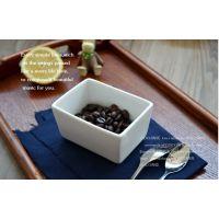 骨瓷烘焙模具 长方形布丁碗 创意小烤碗 西餐厅用具可印logo