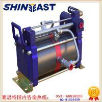 车间压缩空气增压器 气密试验用增压泵 超高压气体增压设备