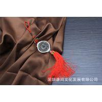 厂家供应 普洱茶茶雕 文化创意品 福字小挂件 车挂件 促销礼品