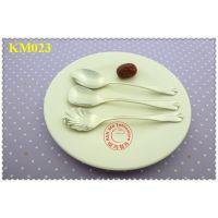 高档精致咖啡勺子 不锈钢咖啡杯勺创意小调羹韩国餐具