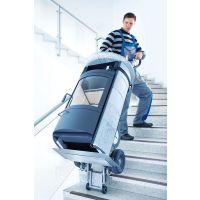 北京普尔夫重型电动载物爬楼机 货物搬运电动爬楼车 仓储货物搬运工具车 楼梯车