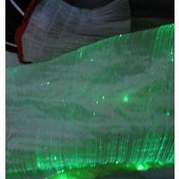 led光纤光纤衣服,0.25mm塑料光纤布料