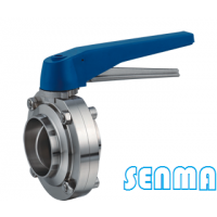 SENMA卫生级定位手柄焊接蝶阀