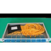 1分32机架式光纤分路器 FC机架式光分路器