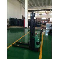 经济型电动托盘堆垛机 1吨升1.6米 黄江集装箱堆高机