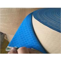 霖龙供应无声雨棚材料/EVA消音材料/蓝色无声雨棚EVA