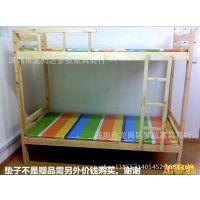 供应广州青年旅馆架子床 成人双层床上下铺学生宿舍床儿童子母床