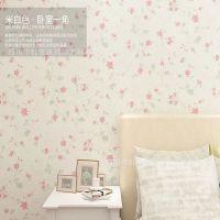 米立方纯天然植绒无纺布温馨满铺小碎花壁纸
