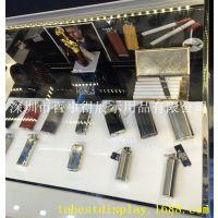 亚克力火机烟盒展示架/有机玻璃火机展示架/压克力火机烟盒展示架