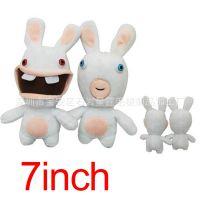 外贸热销 雷曼兔子毛绒公仔 动漫周边玩具动物布偶玩偶 2款一套