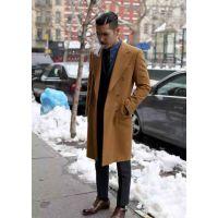 昆明冬季男士正装大衣定做成熟魅力十足