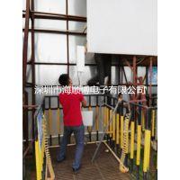深圳红树湾工地数字无线监控成功案列 工地无线监控系统 工地无线网桥