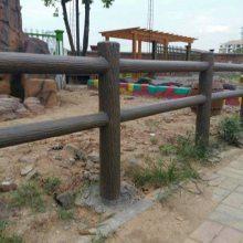 四川防腐木栏杆 园林河道桥梁景观护栏 碳化木栏杆厂家直销 防潮阻燃