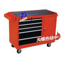 浙江腾辉TH-38五抽带右单开门抽屉式工具车;工具柜;零件车