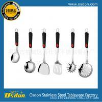 厨房小工具 创意家居用品 厨房炒铲 不锈钢厨具7件套 烹饪勺铲