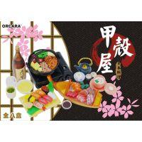 日式美食食玩【日本料理】orcara甲壳原袖珍微型日本食物模型玩具