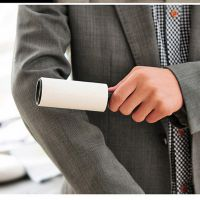 衣物粘毛滚 滚筒粘毛器 强力去毛 可撕粘性粘毛滚筒 粘尘纸