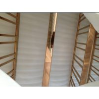 真空电镀-黄钛金不锈钢方管15*15*0.6*0.7