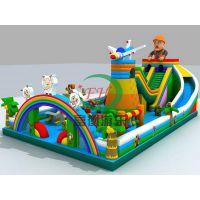 内蒙古地区大型充气蹦床世界宝贝迪士尼乐园儿童游乐厂家