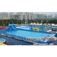 山西省河津市充气水池,双层组合超豪华版图