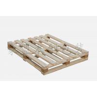 木卡板青岛定做木制四面进叉松木木墩熏蒸木卡板价格