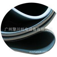 广州擎川everlar厂家直销做月饼机械PVC输送带 180°转弯机专用输送带