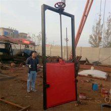 宇东水渠渠道PZ1.2米*1.5米铸铁闸门配套3T手摇式启闭机价格
