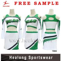 Healong Fully Sublimated Ladies Customized Cheerleading Unifroms Dresses