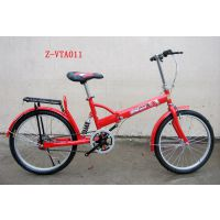 供应优质减震礼品用的折叠车 广州自行车公司