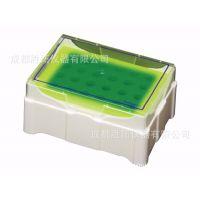 SSI原装4℃变色保温盒、低温冷却架恒温盒、生物4℃冰站