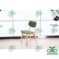 运达来厂家促销小美式乡村风格 咖啡厅 甜品店奶茶店 茶餐厅水曲柳餐椅