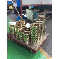供应镶嵌石墨铜套,ZQSn6-6-3锡青铜,自润滑轴承,嘉善荣昌JDB650轴承