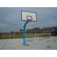 康腾韶关移动篮球架底座尺寸 固定式埋地篮球架一般多少钱