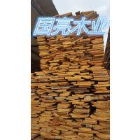 木板皮铁杉花旗松辐射松木制品批发包装箱板木条子批发