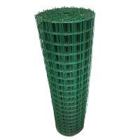 防小鸡往外钻绿色镀锌铁丝网一米价格 塑胶浸塑荷兰网电焊网