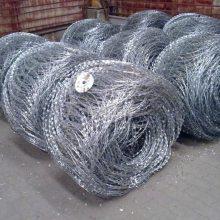 丹东围墙隔离刀片刺绳厂家供货-热镀锌刀片刺绳一吨多少钱?