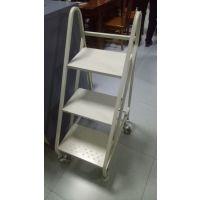 供应新疆红光牌简约HG-003型书车 书梯 移动档案密集柜