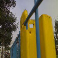 桃型柱护栏网 联舟方管立柱护栏网工厂直供