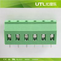 欧式接线端子 MU2.5H7.62 PCB印刷电路板端子  大电流接线端子