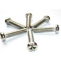 供应十字半圆头螺钉  半圆头十字螺丝  不锈钢机螺钉 十字槽螺钉