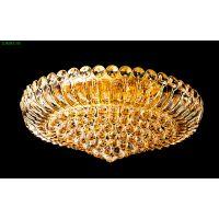 专业生产豪华时尚LED水晶吸顶灯圆形餐厅灯卧室灯具批发