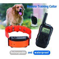 供应宠物多功能止吠器遥控防水充电训狗器宠物狗用品X-600B