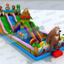 小孩子玩的充气蹦蹦床要多少钱?