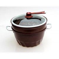 紫砂石真空锅5件套 紫砂石多用锅 紫砂锅5件套 真空不粘锅