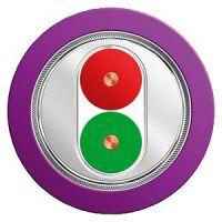 西门子紫色双芯通讯电缆