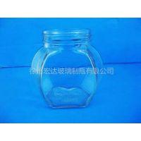 供应厂家直销芝麻酱玻璃瓶,蜂蜜玻璃瓶,小玻璃罐玻璃瓶