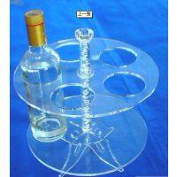 我司专业供应亚克力烟架/有机玻璃烟架/透明烟架